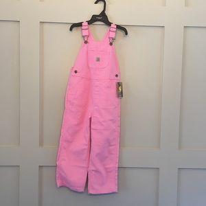 🆕 Carhartt Pink Overalls